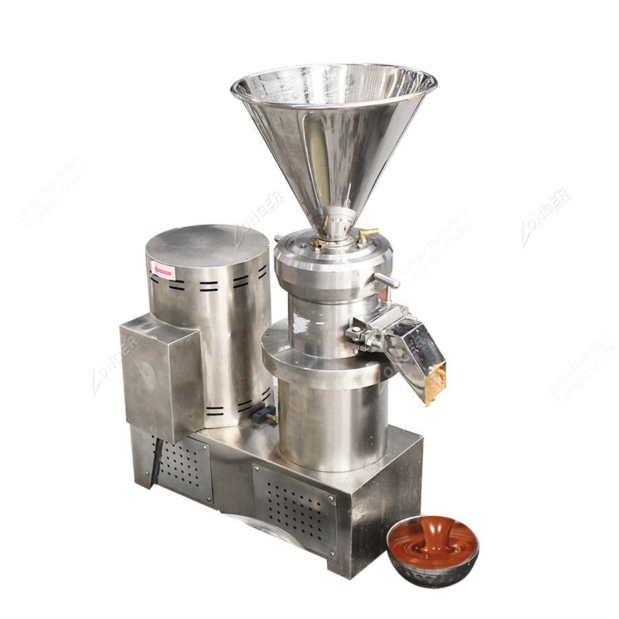 Commercial Cocoa Bean Butter Grinding Processing Making Machine Cocoa Butter Machine