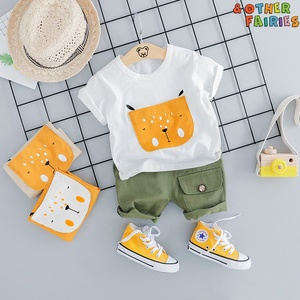 Image of & Other Fairies 2019 Fashion for kids cheap new autumn european stylish cotton baby boy sets clothes children's clothing sets
