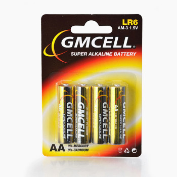 Good Price No.5 Battery LR6 AM3 1.5v Battery AA Alkaline