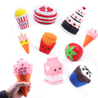 Gold Supplier Japan Multicolor Food Squishy Toy