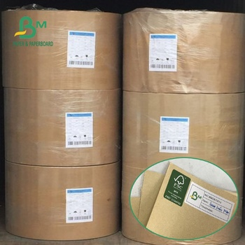 A1 Size Recycled Pulp FSC 80GSM Unbleached Brown Craft Paper for Shopping Bag
