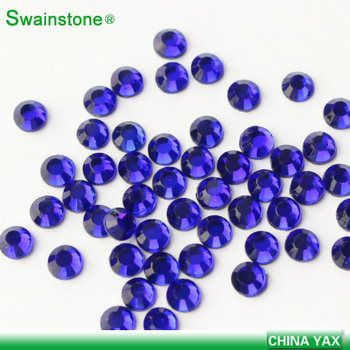 S0802 12ss iron-on lead free diamond China low lead rhinestone factory price hotfix silver for garment