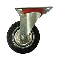 Industrial mobile plastic dumpcart waste container caster wheels