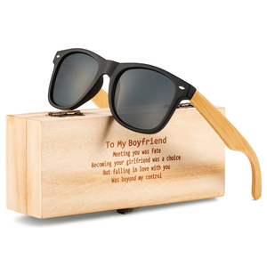 2019 Polarized Wood Glasses Hand Made Vintage Wooden Frame Male Driving Sun Glasses Shades Gafas With Gift Box
