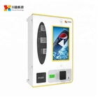 Wall Mounted Vending Machine mart touchscreen self service payment kiosks with keyboard