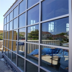 High quality commercial aluminium frame glass curtain wall prices
