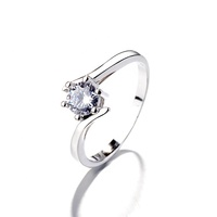 Destiny Jewellery 925 Sterling Silver New Wedding Ring Fashion Jewelry For Women