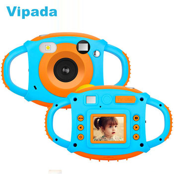 CD-FP+ Mini Cartoon Photo Children's Toy Camera 1.77 Inch Anti-fall Digital Cameras