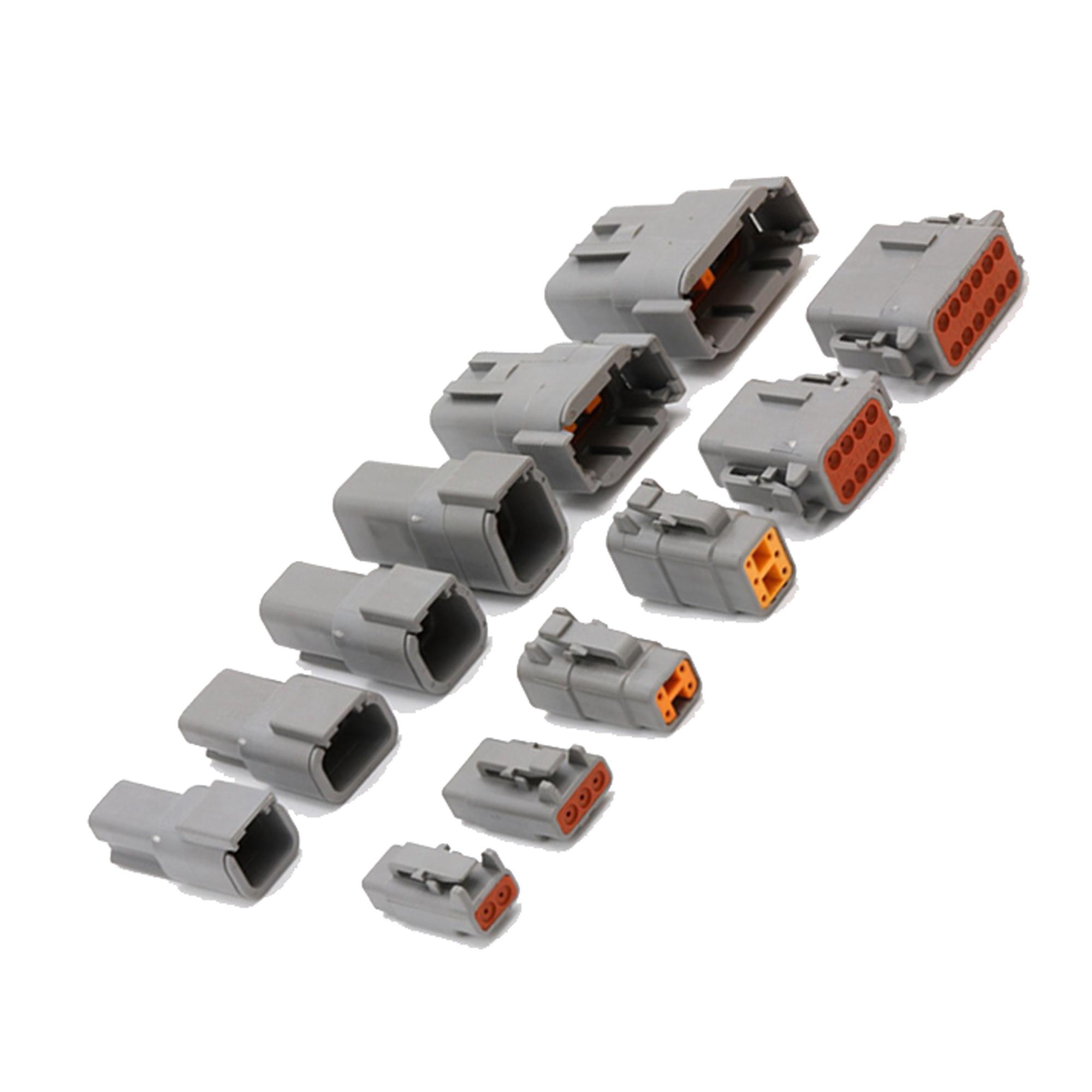 1/set Deutsch DT06//DT04/2//3//4//6//8//12P motore cambio motore impermeabile connettore elettrico per auto Bus Truck