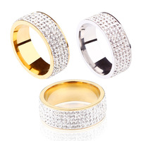 no fade crystal ring no tarnish crystal clay finger ring jewelry assorted mixed ring jewelry cheap free sample