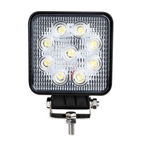 "Morsun 4"" led work light 27w off road led lamp 27w led lamp flood 27w led work light 12v led car light"