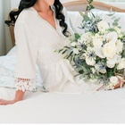 Wholesale Wedding Women Super Soft Silk Satin Bridal Robes Bride Gown Kimono Robe Silk Lace Bridesmaid Robes