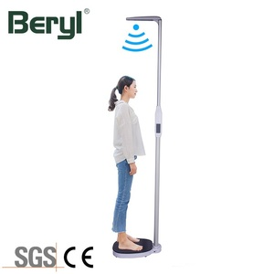 New Style 200Kg Health Electronic Weight Height Measurement Meter BMI Body Scale
