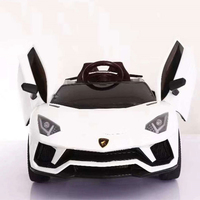 Cheap price small child electric car / 12V kid driving electric car / four motor electric car for kid with remote control