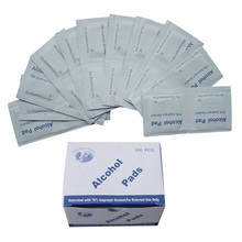 ce&fda ethyl 2 ply medical 70 70% isopropyl sterile ethanol gauze filling filled cotton prep alcohol swabs for injection