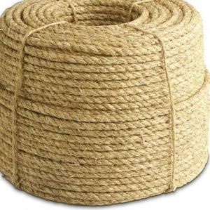 50mm Twisted Natural Manila Sisal Hemp Rope For Marine And Mooring Rope