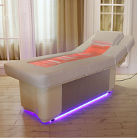Professional luxury electric water spa facial bed for beauty salon furniture,Electric Constant Temperature Massage Table