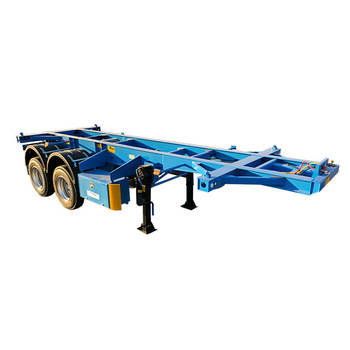 Factory Price 40ft Skeleton Container Semi Trailer,Container Chassis Truck  Trailer With Twist Lock And Hoops For Sale - Buy Container Semi