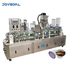 automatic coffee capsules k-cup kcup k cup making filling sealing and packaging machine Shanghai factory price