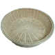 BR-1040 Wholesale Handcraft Round Shape Fruit Basket Bread Tray Bowl Round Wicker Stackable Storage Baskets