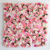 2019 summer wedding occasion silk rose flower wall backdrop supplier artificial flowers party decoration
