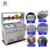 Energy Conservation up to 15% double pan fried ice cream machine exhibited at Canton fair