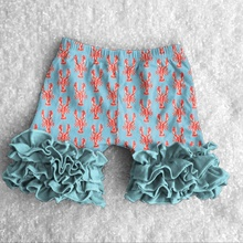 Groothandel Kind Modellen Top 100 Ruches Baby Leggings Bedrukt Strand <span class=keywords><strong>Shorts</strong></span> Sets
