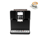 One touch Automatic coffee machine espresso/ cappuccino commercial Coffee beans maker black coffee vending machine