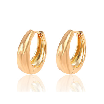 26933 Xuping Jewelry Hot Sale Fashion  Huggies  Earring with 18K Gold Plated