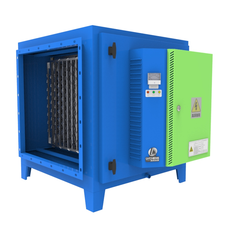 LVcheng industrial smog machine electrostatic filter for restaurant exhaust waste gas