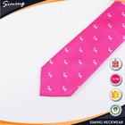 Animal Print Tie Printed Good Quality Wholesale Skinny Color Puppy Pattern Neck Ties in Bulk with Animals