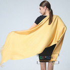 New cheap 250g Plain knitted solid color cashmere feeling oversize pashmina scarf shawl