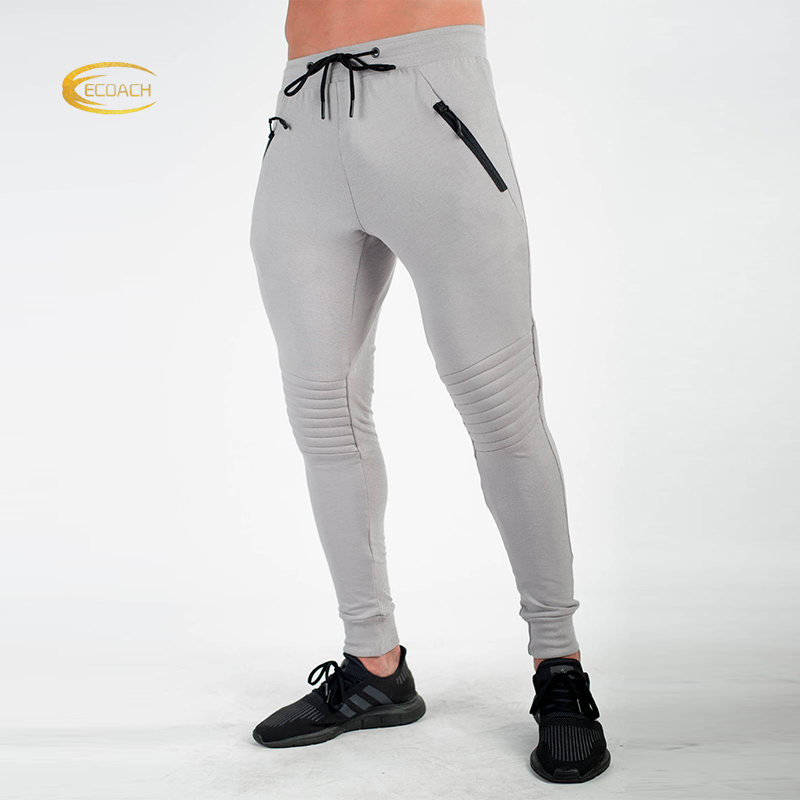 Ecoach Groothandel Tapered Joggingbroek Slim Fit Custom Mannen joggers Broek