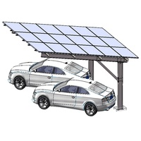 2019 Waterproof Galvanized Carbon Steel Solar Carport Mounting System