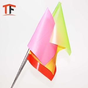 Custom plastic pvc marking 4x5 flags for survey