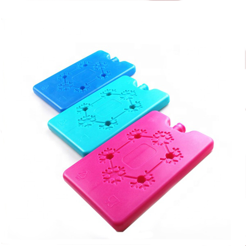 2015 new design ice cooling plastic box, gel cool keeper