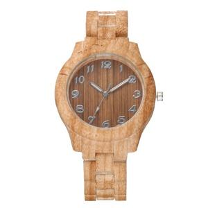 New Arrival Wood Grain Watch Women PU Hand Watches Vogue Quartz Movement For Men SW048