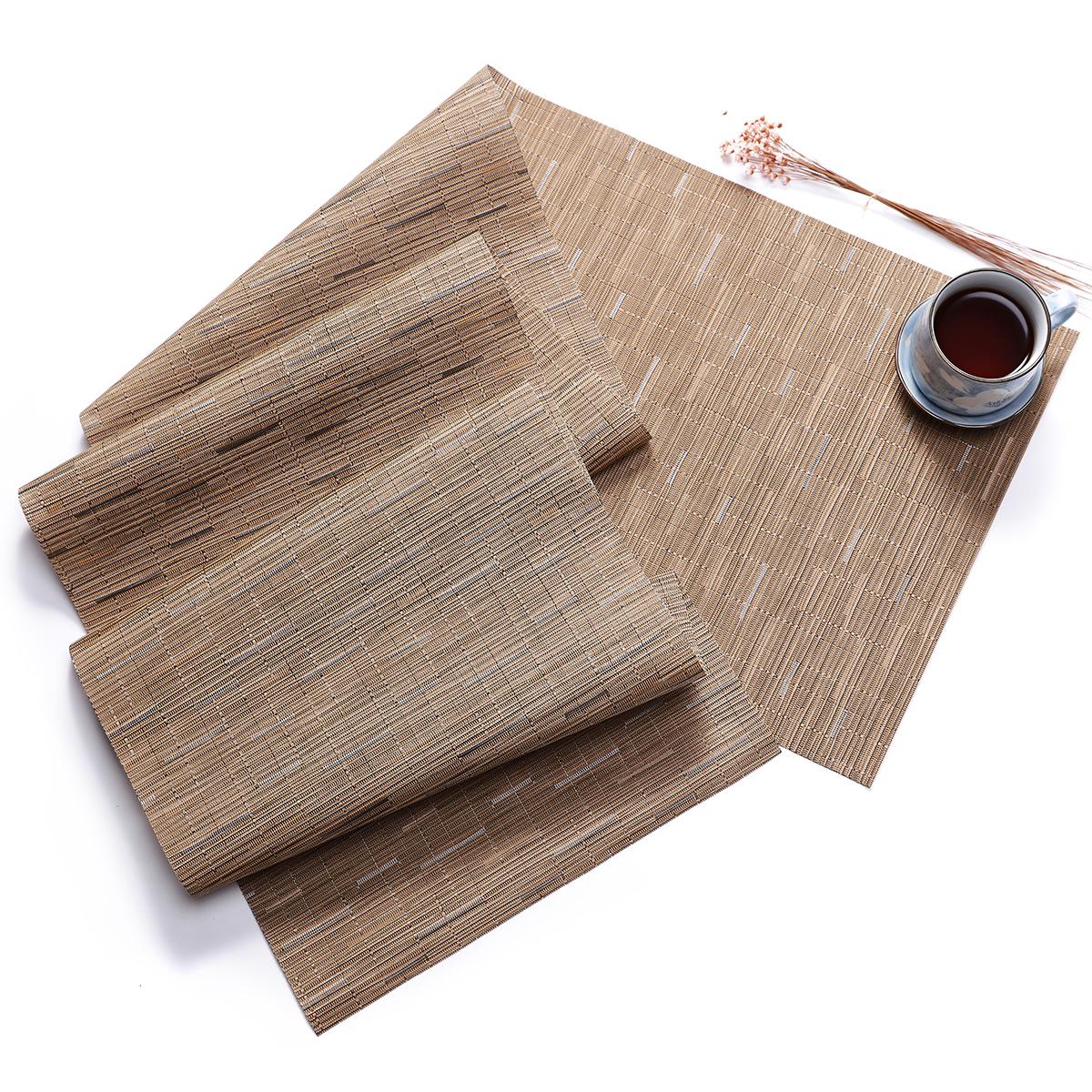 D-casa caliente venta suciedad impermeable a prueba de decoración de lujo de Pvc Mesa Runner