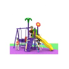 New Children's Amusement Park Cheap Swing Combination Slide Outdoor Toys Playground