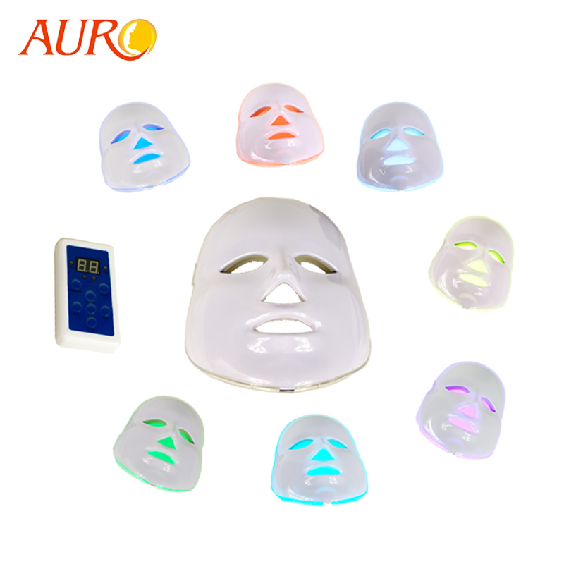 AU-008 Ance Treatment and Pigment Removal Feature Face Led Mask 7 Colors фото