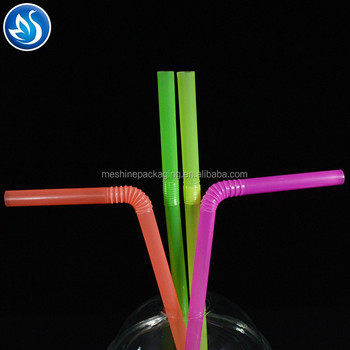 PLA drinking straw factory hard plastic drinking straw