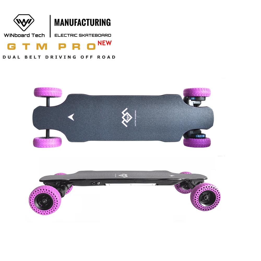WINboard GTM PRO 10S3P 9AH battery 5 color option 6 inch tires 180KV 5065 rear dual belt motor all terrain electric skateboard