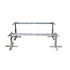 Motorized Stainless Steel Dining Table Height Adjustable Home Furniture