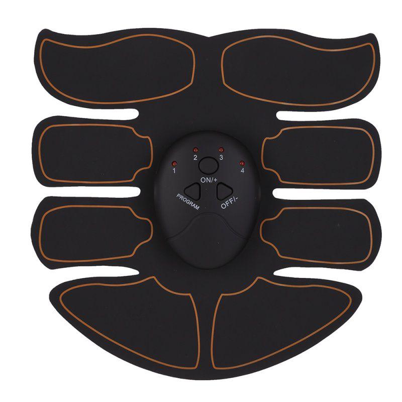 Smart EMS Muscolare Elettrico Simulatore di Massaggio del Muscolo Addominale Premere Trainer Sport Academy Palestra di Casa Esercizio di Fitness Corpo Macchina