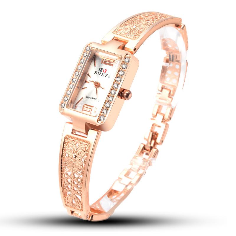 Top brand luxury watch women bracelet watch rose gold women's watches diamond ladies watch clock relogio feminino reloj mujer фото