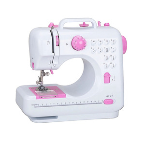 Domestic practical portable electric automatic home interlock sewing machine with presser foot