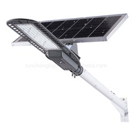 New remote controller  ip65 garden separate panel battery 40w 90w 100w aluminum light split led solar street lighting