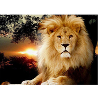 Diamond Painting Kits For Adults Lion Painting 5d Diy Diamond Embroidery Full Drill Square Round Paint By Diamonds Wall Art