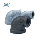 economic malleable iron pipe fittings made in China/45 degree elbow