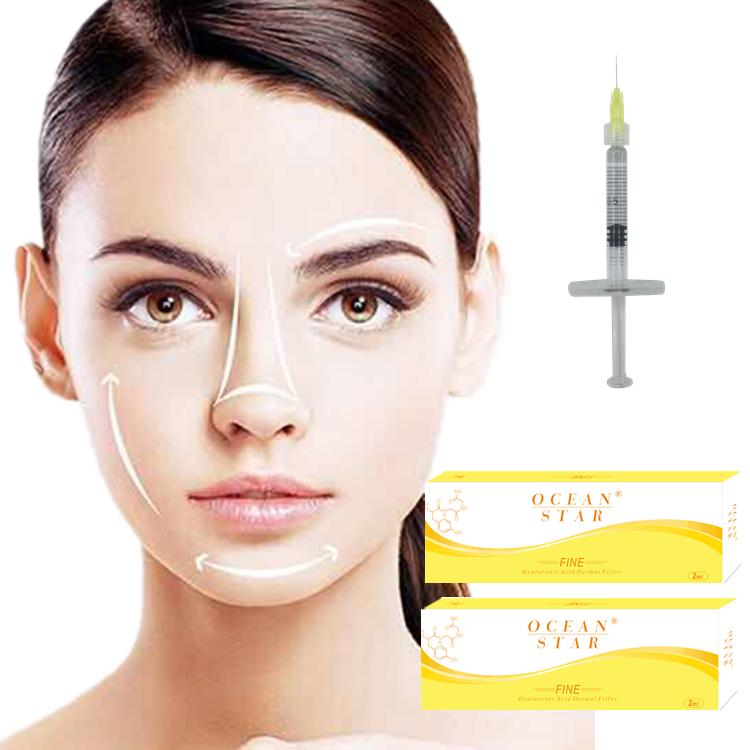 Factory price hyaluronic acid korea dermal filler Fine 2ml